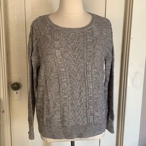 Cable knit sweater XXL